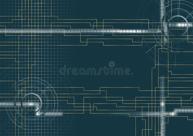 Vector - Background technical royalty free stock photography