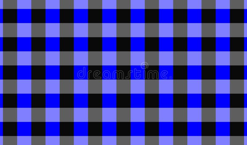 Vector background,texture for tablecloth,textile articles,blue and black background.Vector illustration. EPS-10 royalty free illustration