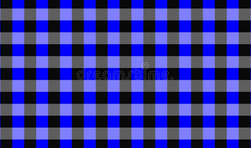 Vector background,texture for tablecloth,textile articles,blue and black background.Vector illustration. EPS-10 stock illustration