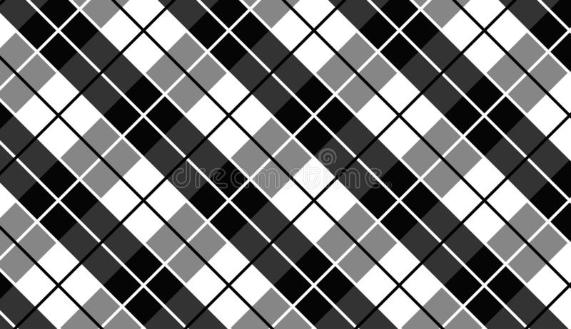 Vector background,texture for tablecloth,textile articles,white and black background.Vector illustration. EPS-10 stock illustration