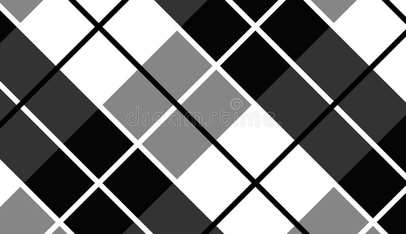 Vector background,texture for tablecloth,textile articles,white and black background.Vector illustration. EPS-10 royalty free illustration