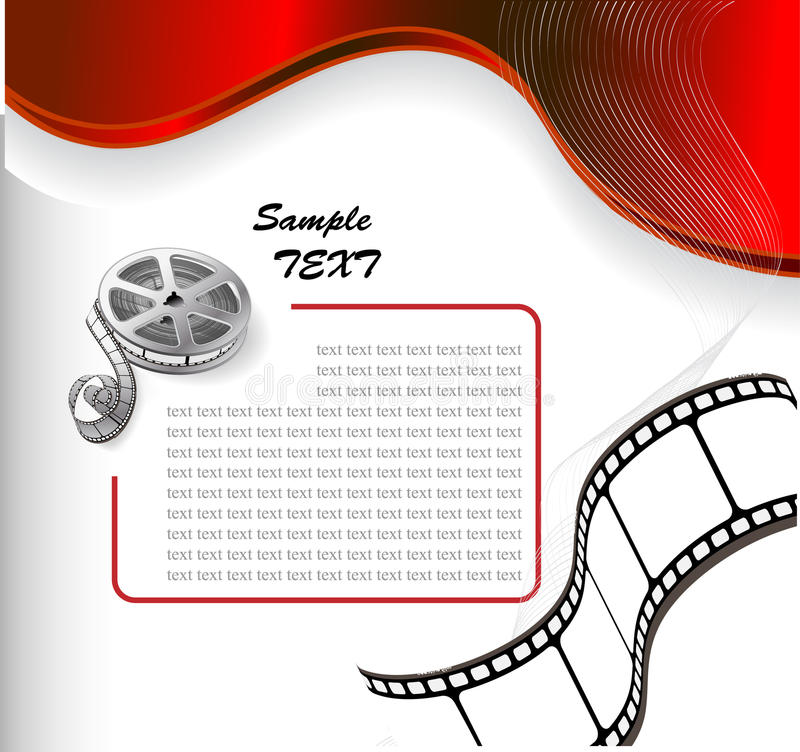 Free Vector Background With Photographic Film Stock Image - 10910311