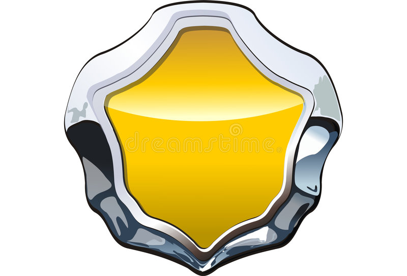 Vector Badge stock images