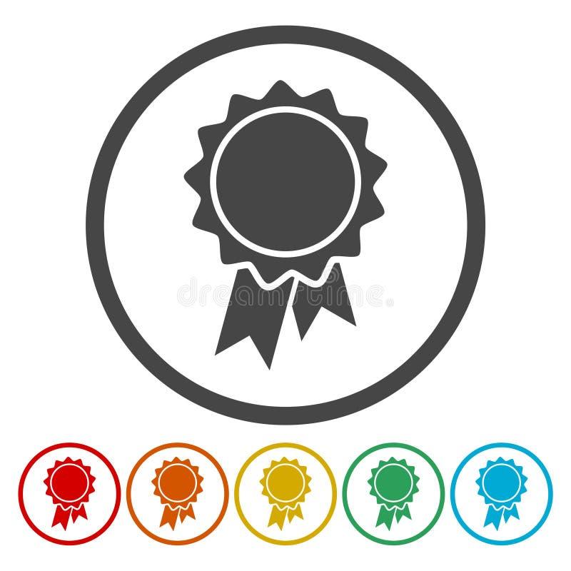 Vector badge icon stock illustration