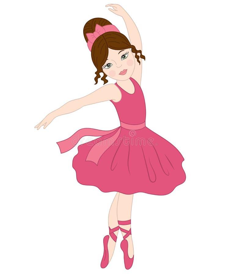 vector ballerina dancing ballerina clipart stock vector rh dreamstime com ballerina clipart silhouette ballerina clipart black and white