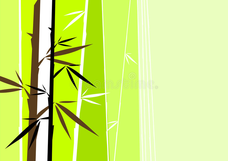 Download Vector bamboo stock illustration. Image of background - 4824930