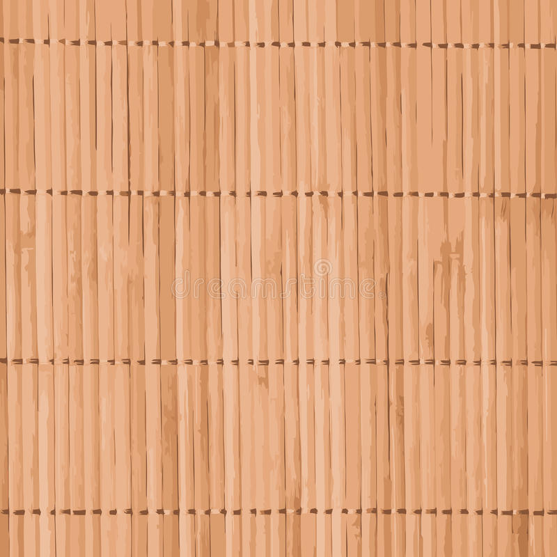Vector bamboo background royalty free illustration