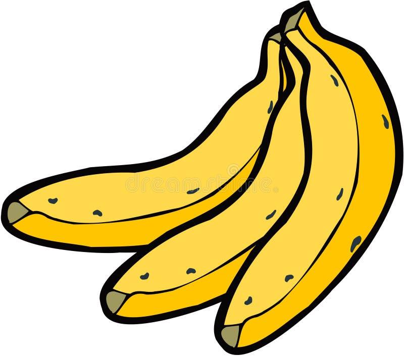 Vector Bananen royalty-vrije illustratie
