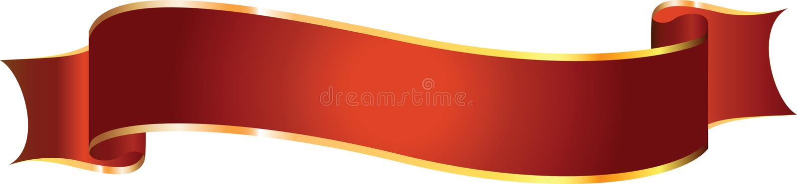 Vector banner royalty free illustration