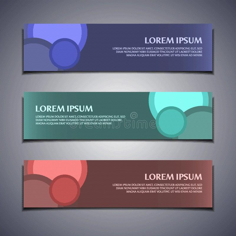 Vector banner label background modern template design abstract web illustration. Stock vector banner label background modern template design abstract web vector illustration