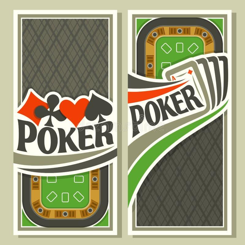 Free Vector Banner Of Holdem Poker Royalty Free Stock Image - 80714576