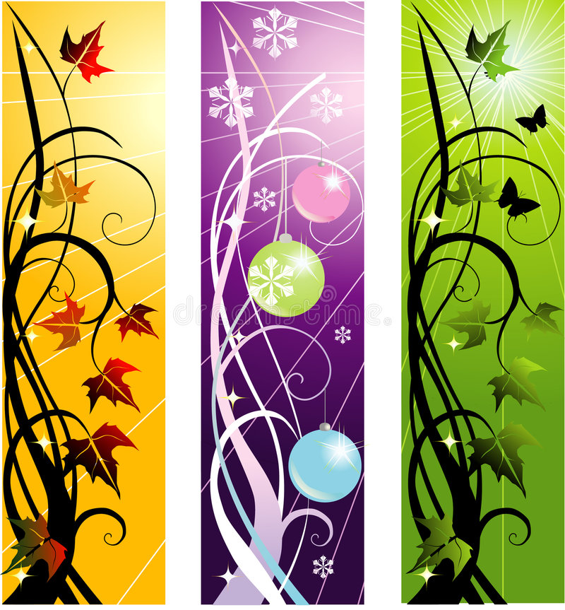 Download Vector banners stock vector. Image of morning, backdrop - 7567183