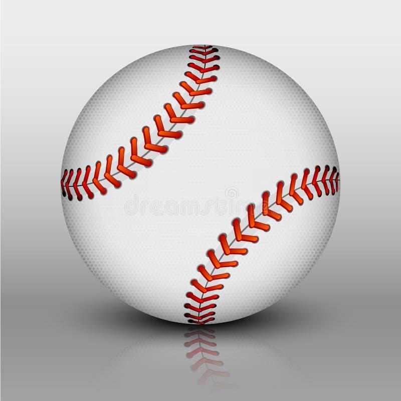 Vector baseball ball royalty free stock photos