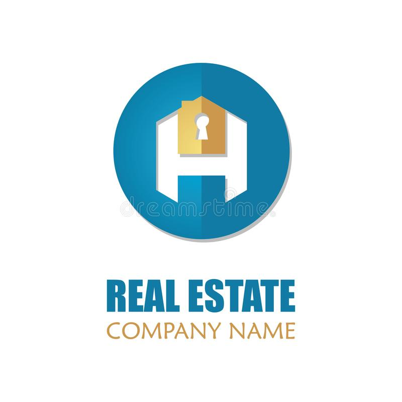 Modern real estate logo template abstract letter house logotype download modern real estate logo template abstract letter house logotype icon design vector illustration stock thecheapjerseys Gallery
