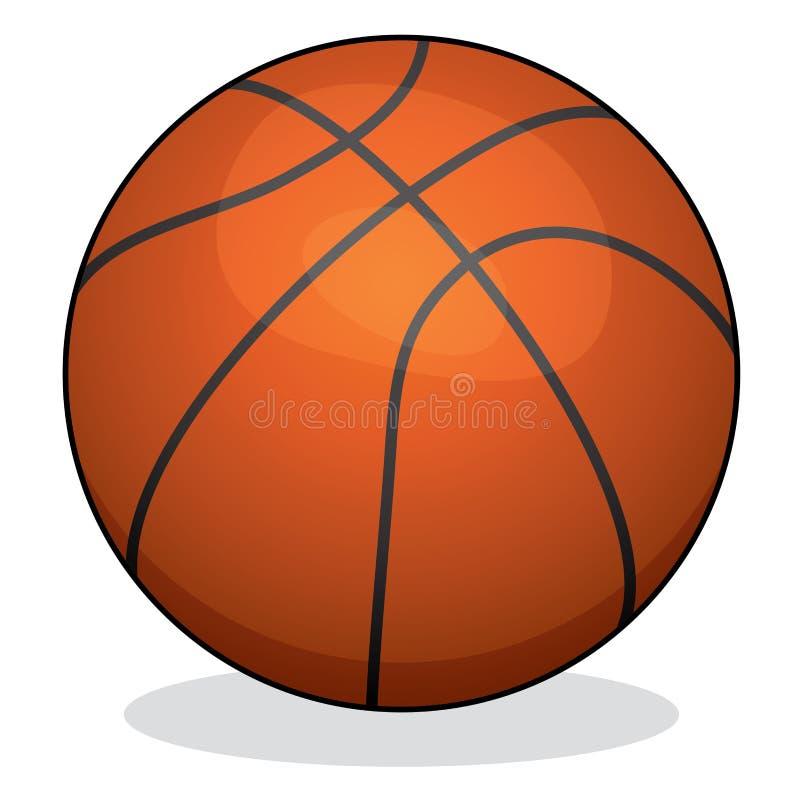 vector basket ball stock illustration