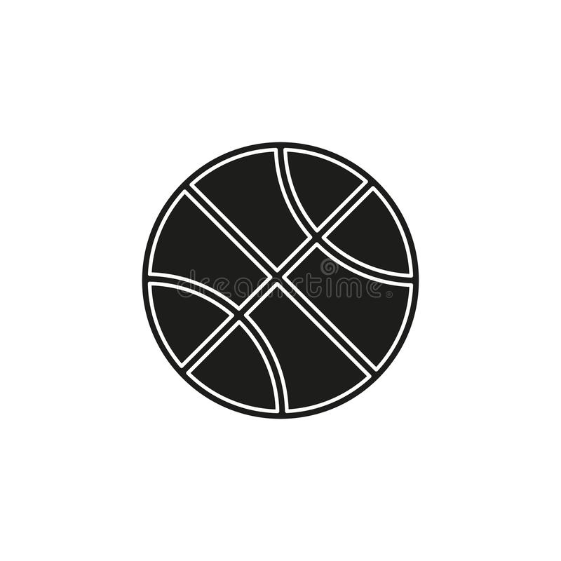 vector Basket ball - vector basketball isolated, sport symbol - play game vector illustration