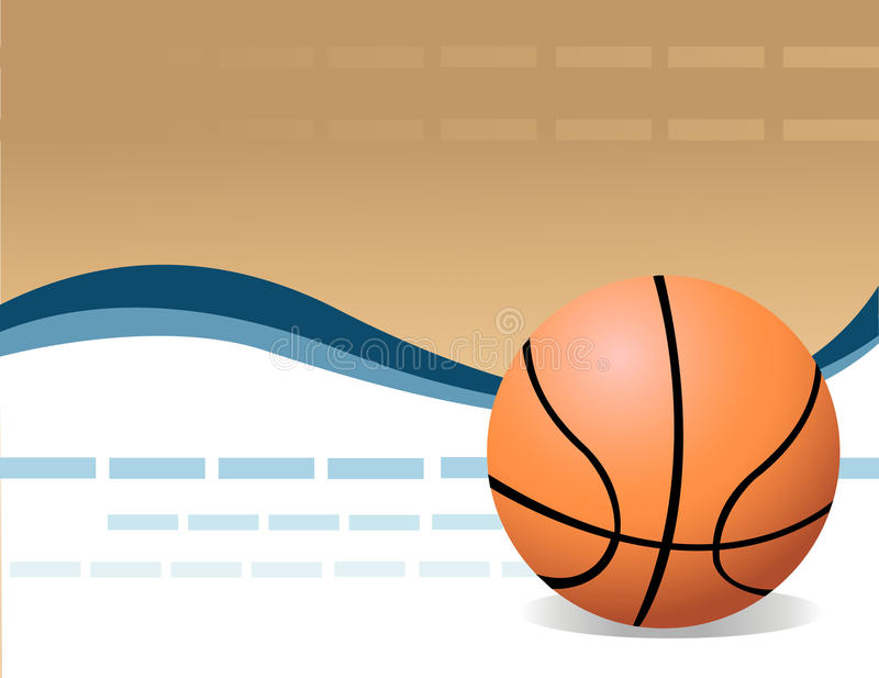 Download Vector Basketball stock vector. Image of object, game - 9448390