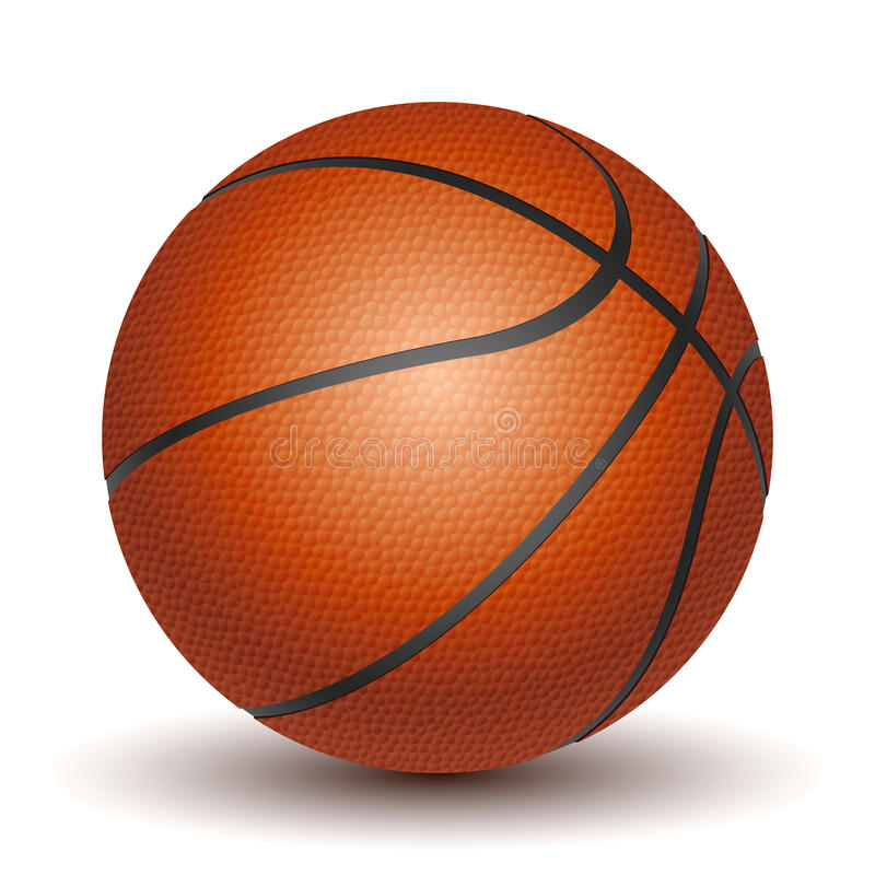 Vector Basketball royalty free illustration