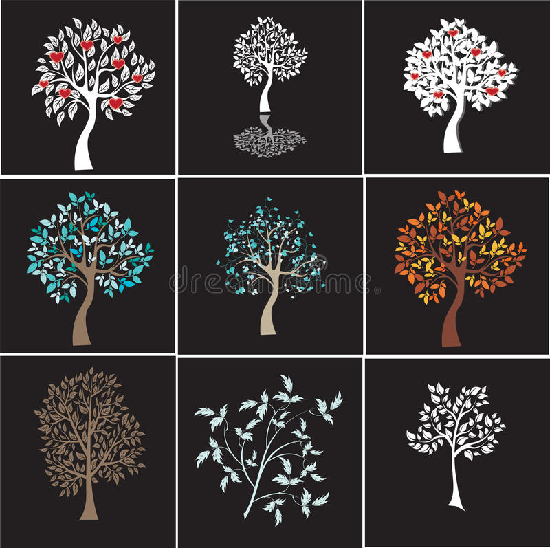 Vector Baum vektor abbildung