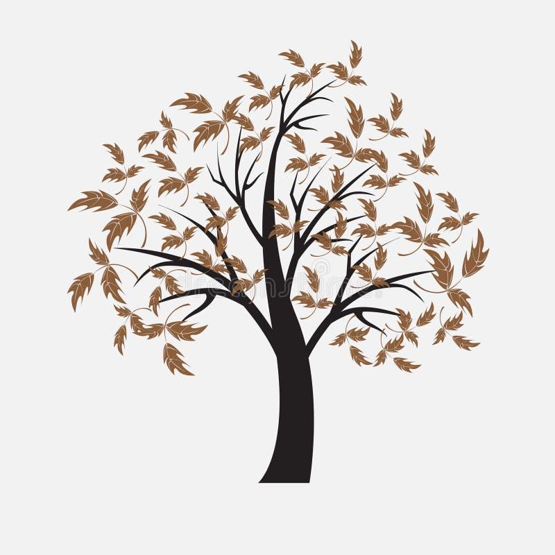 Vector Baum lizenzfreie abbildung