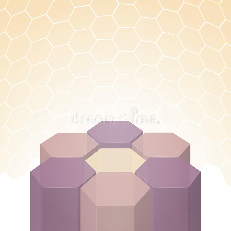 Download Vector Beautiful 3D Polygon Flower Background Stock Vector - Image: 25602247