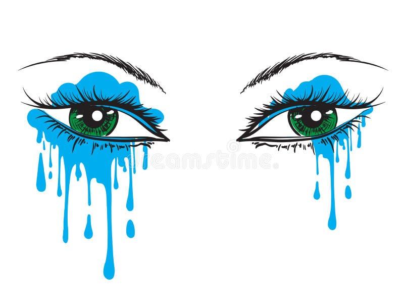 Clip Art Crying Eyes