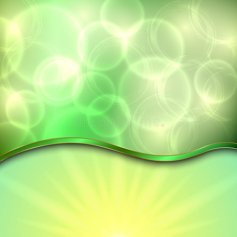 Free Vector Beautiful Spring Background With Curve Royalty Free Stock Photography - 37514657
