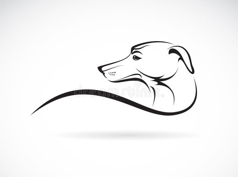 Vector beeld van een hond (azawakh) royalty-vrije illustratie