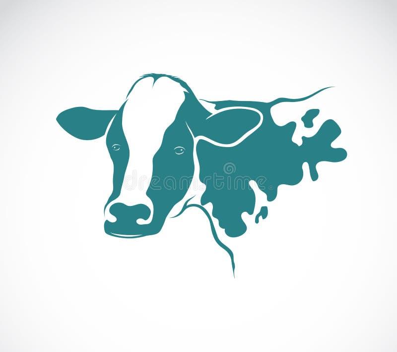 Vector beeld van een koe royalty-vrije illustratie