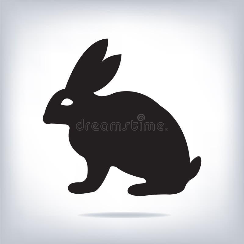Vector beeld van een konijn royalty-vrije illustratie