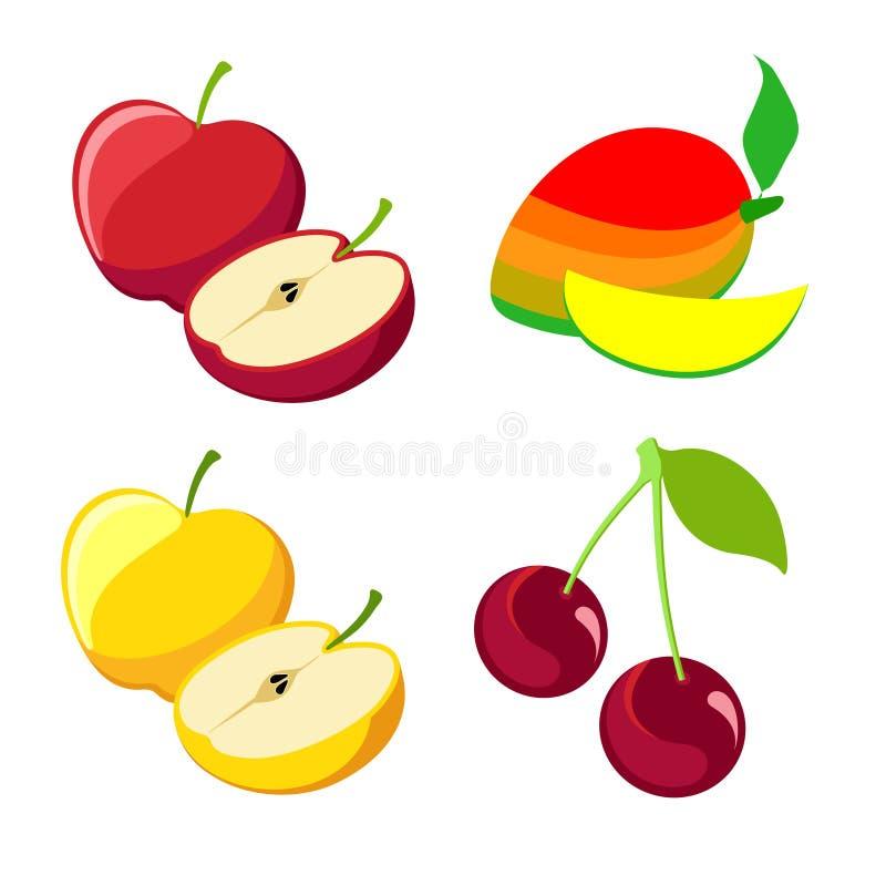 Download Vector berries stock vector. Image of fresh, sliced, vitamin - 24932559