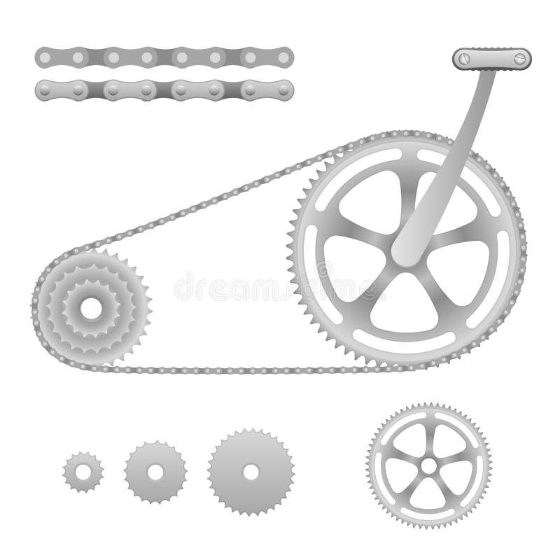 Download Vector bicycle gear stock vector. Illustration of mechanism - 23828032