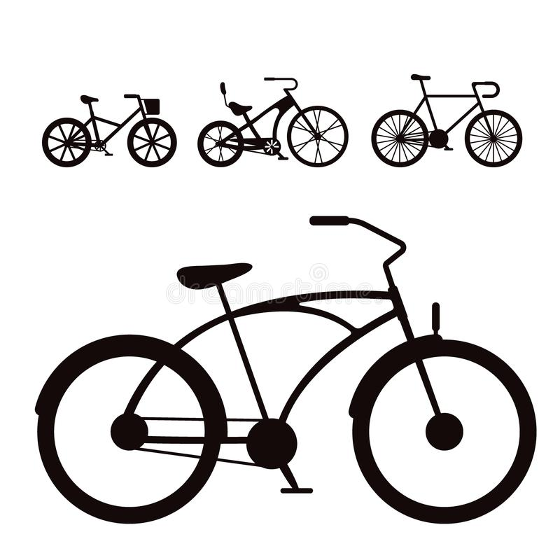 Free Vector Bicycles Vintage Style Old Bike Transport Retro Ride Vehicle Summer Cycle Transportation Illustration Royalty Free Stock Photography - 102515537