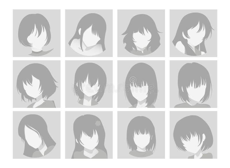 Anime Profile Stock Illustrations 3 435 Anime Profile Stock Illustrations Vectors Clipart Dreamstime