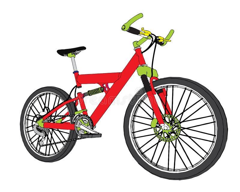 Vector bike stock photos