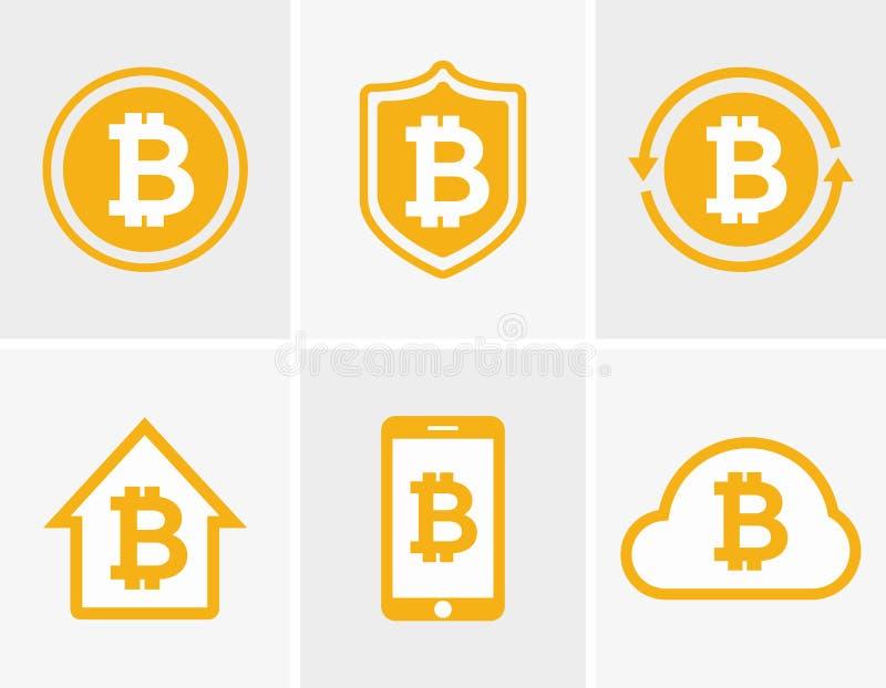 Vector Bitcoin Logo Bitcoin Icon Bitcoin Cloud Icon Bitcoin