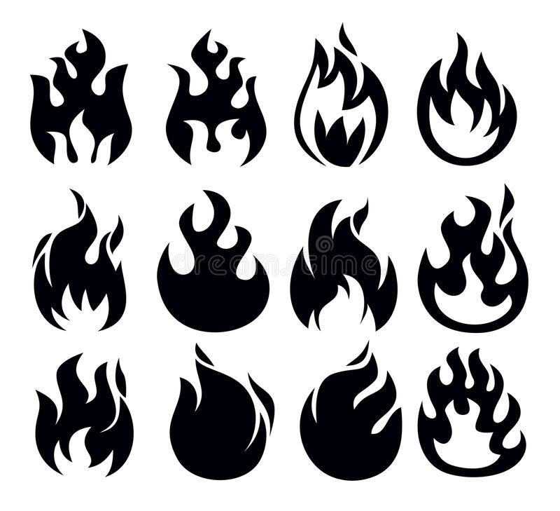 Download Fire Icon Royalty Free Stock Images - Image: 30156499