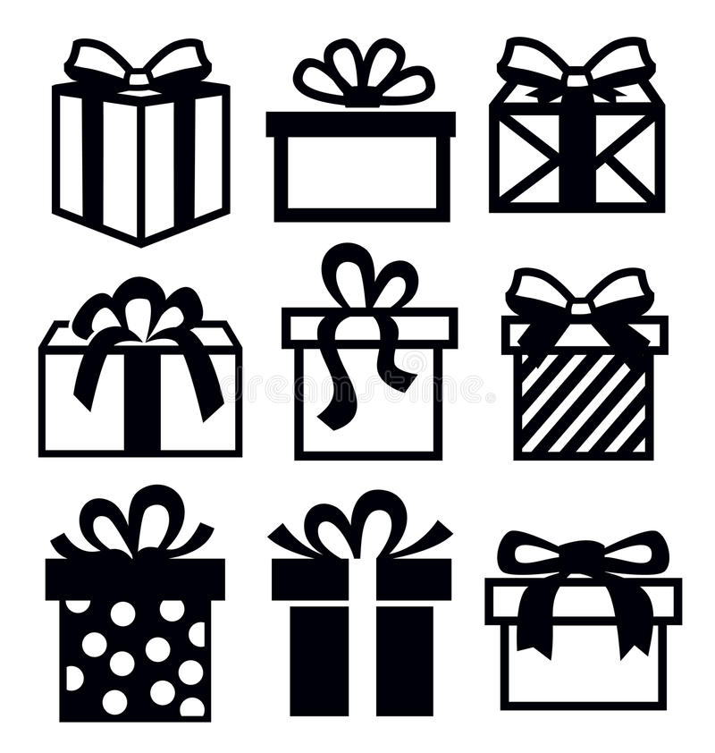 Gift Icon Stock Images