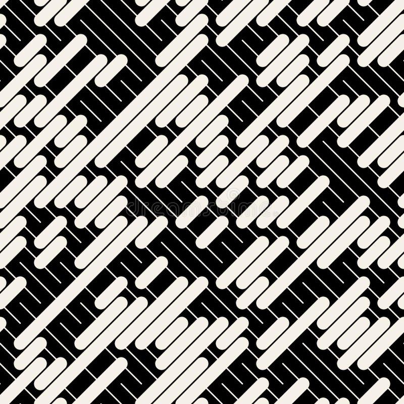 Diagonal Line Design : Vector black white diagonal lines geometric seamless