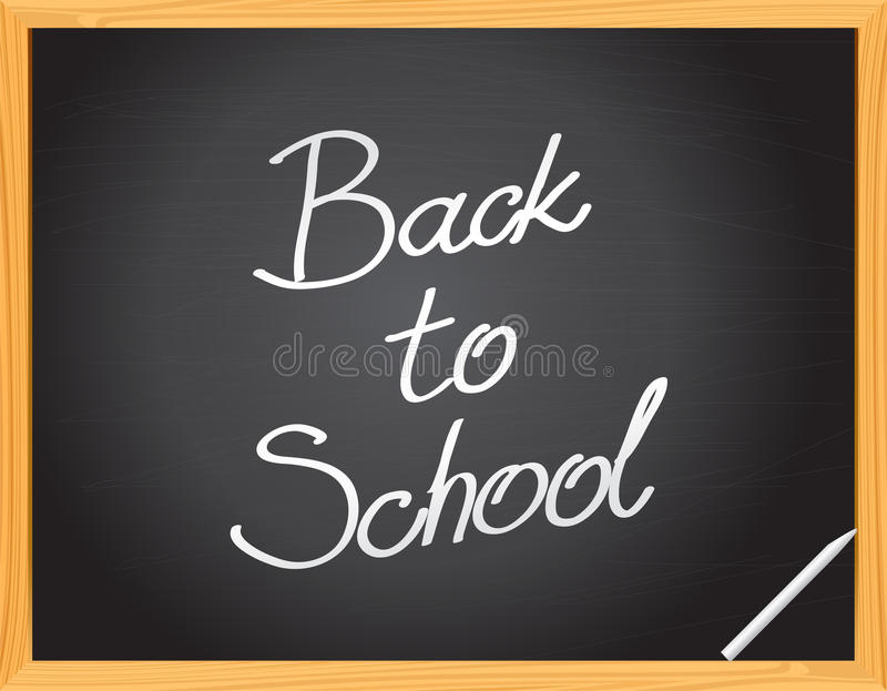 Vector Blackboard royalty free stock image