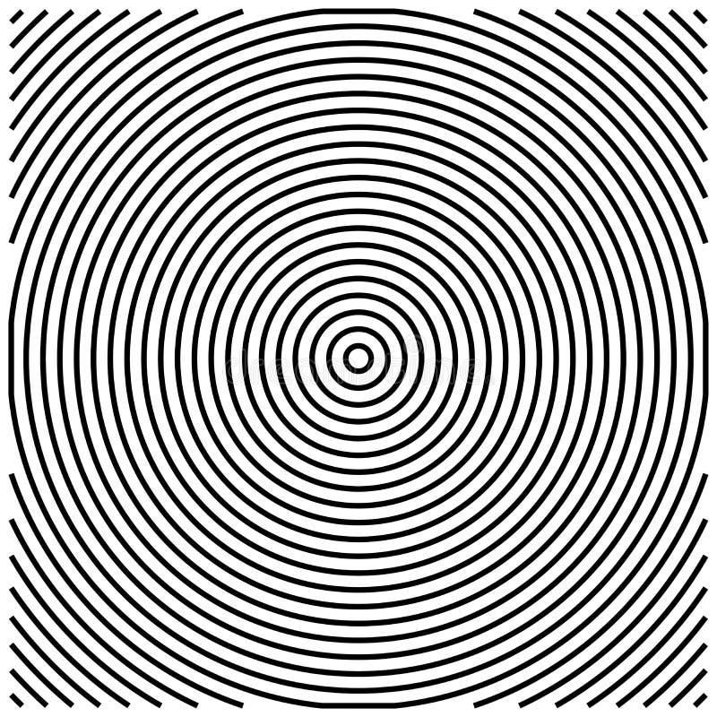 Vector blanco y negro del fondo del fondo del fondo abstracto gráfico básico de los modelos ilustración del vector