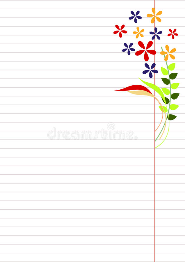 Vector Blank For Letter Or Greeting Card Paper Of