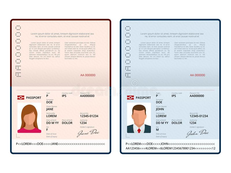 passport template - Kubre.euforic.co