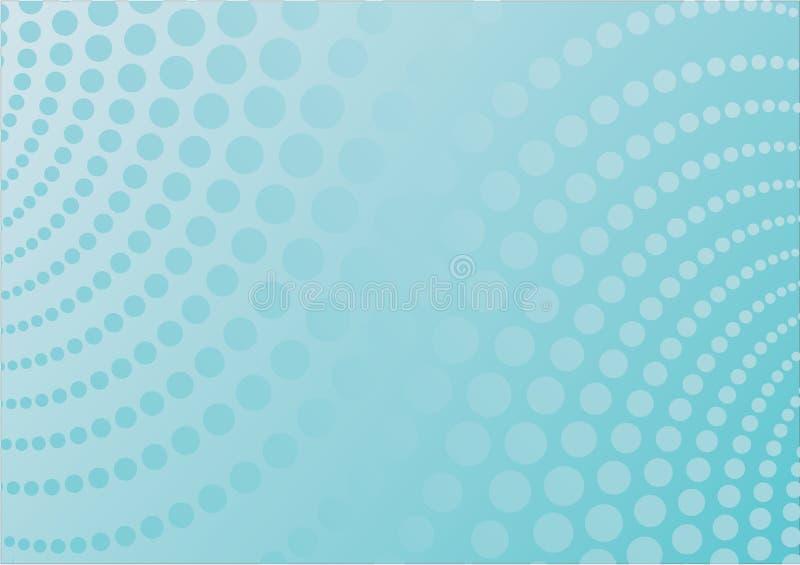 Vector blauw als achtergrond royalty-vrije illustratie