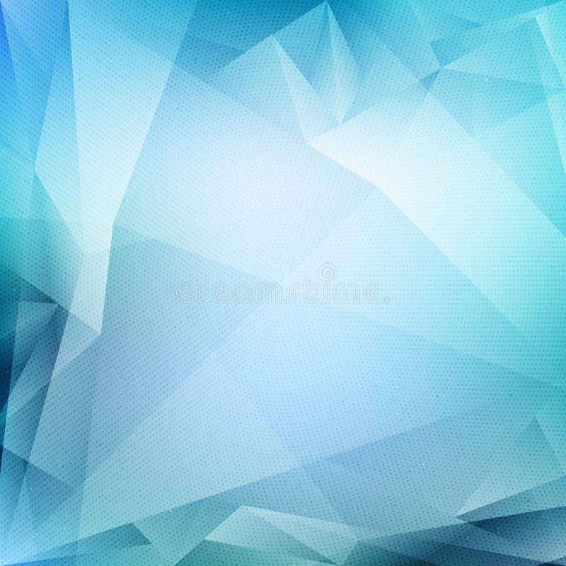 Vector blauwe abstracte achtergrond vector illustratie