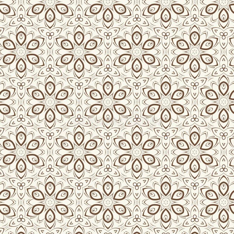Vector bloemenachtergrond desig stock illustratie
