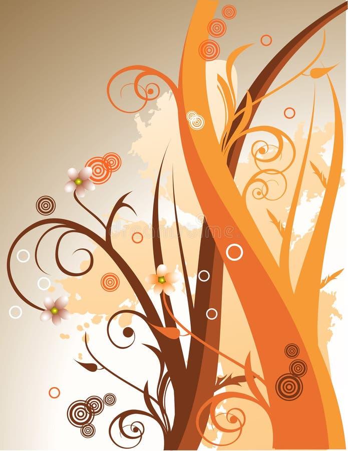 Vector bloemenillustratie stock illustratie