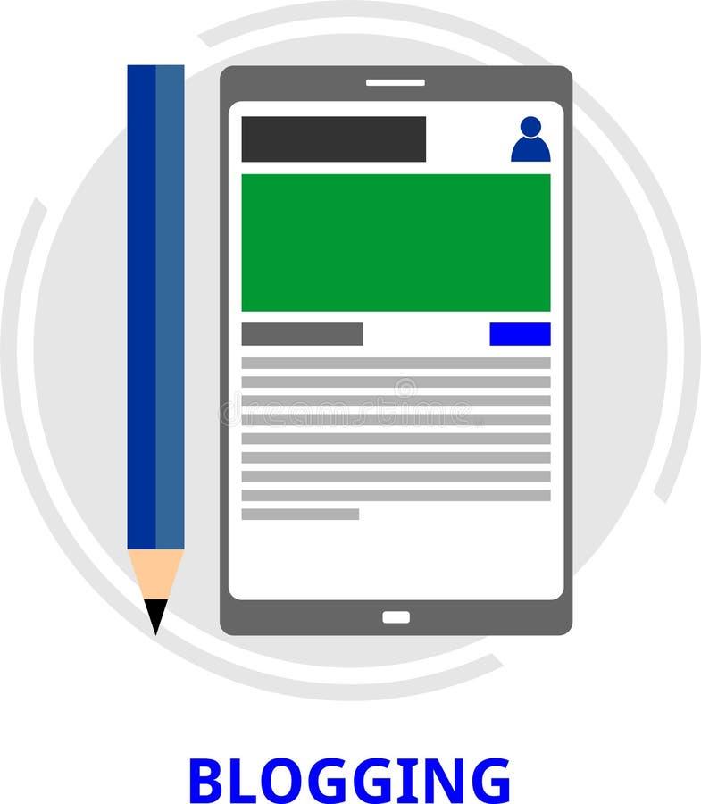 Download Vector - blogging stock vector. Illustration of blog - 59077172