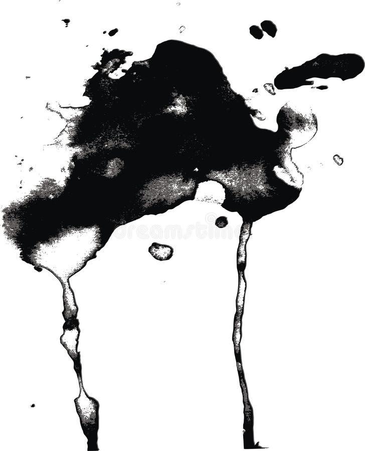 Download Vector blot stock vector. Image of graffiti, design, chalk - 7778780