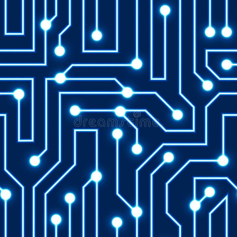 Blue Glow Circuit Wallpaper - Find Wiring Diagram •